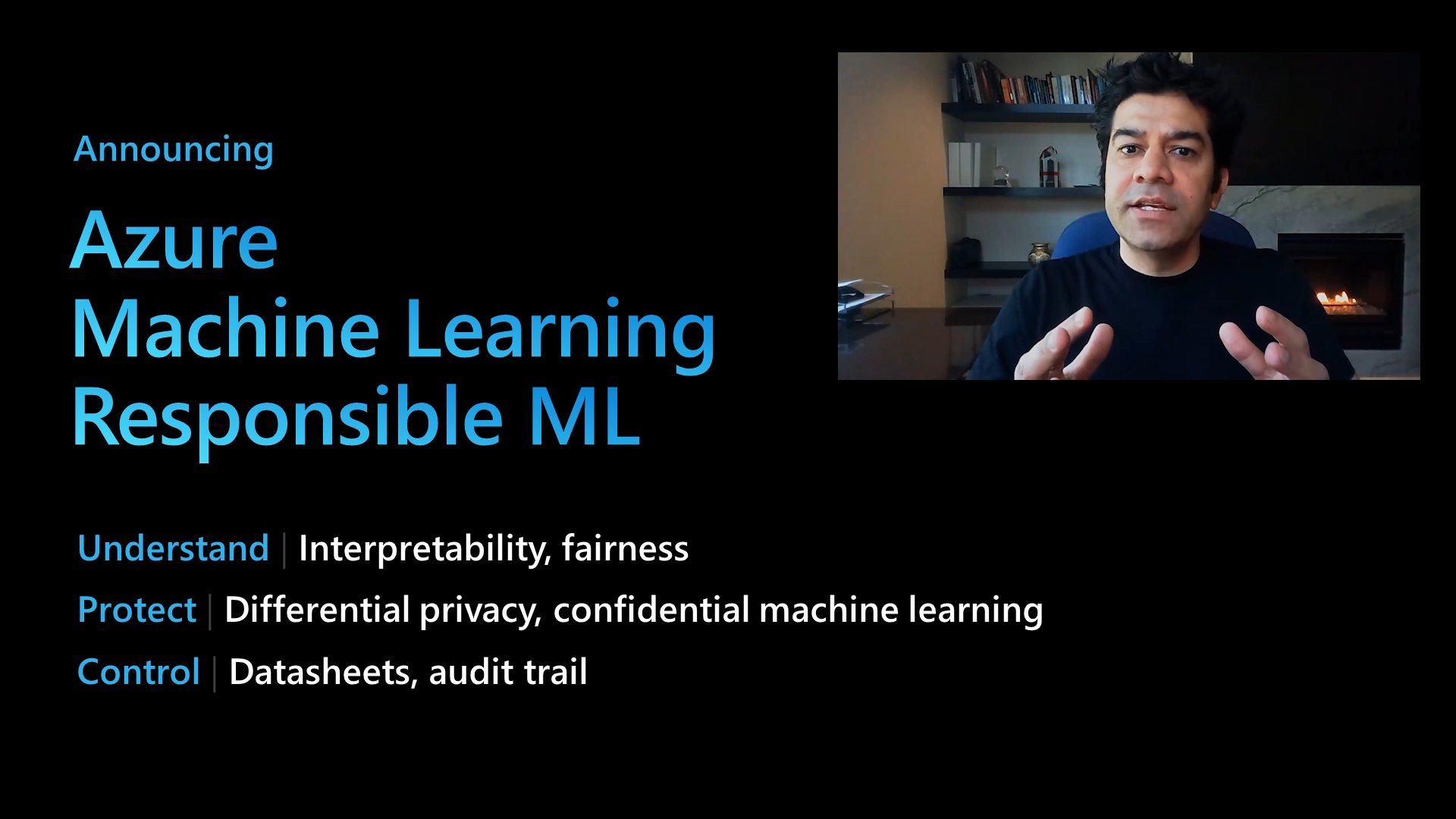 Build 2020 Responsible ML Overview